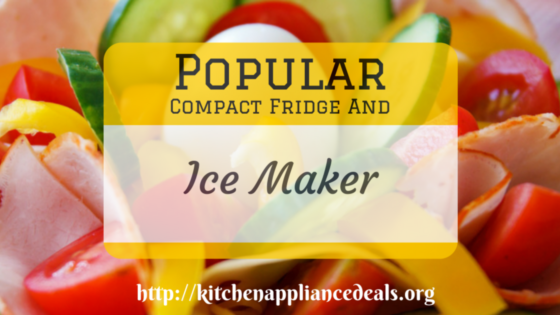 Compact Fridge And Ice Maker