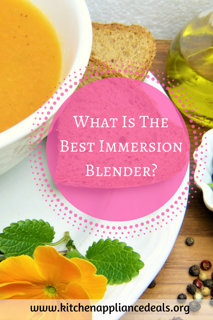 what is the best immersion blender