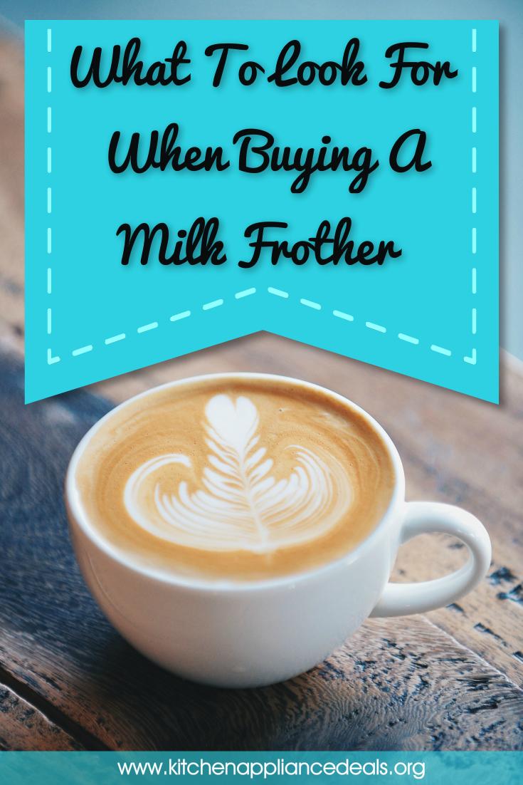 best handheld milk frother