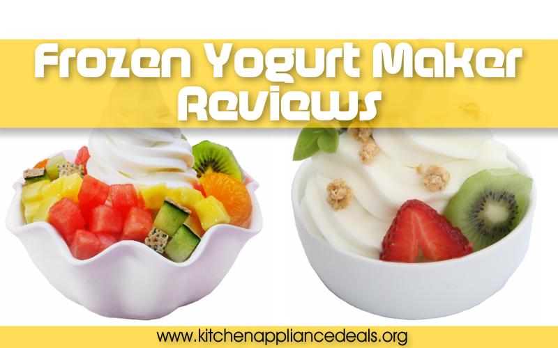 frozen yogurt maker buying guide